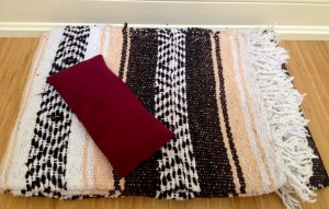 Mexican Blanket & Eye Pillow