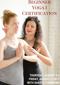 Beginner Yoga I Certification